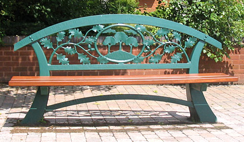 Public Seating And Park Benches