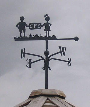 school weather vane