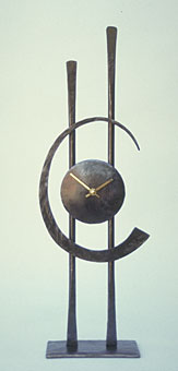 table clock in modern style