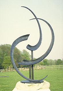 garden art and exterior sculpture in modern style