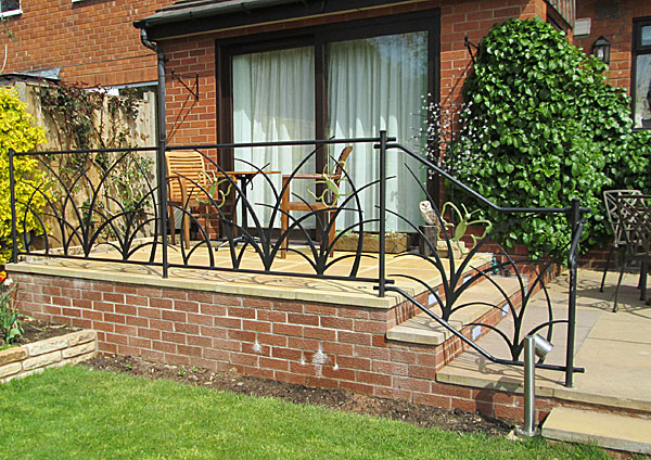 Metal Garden Railings Uk Garden Ftempo