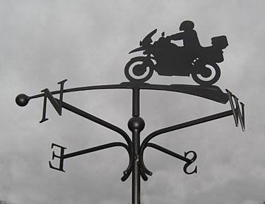 motorcycle weather vane bmw