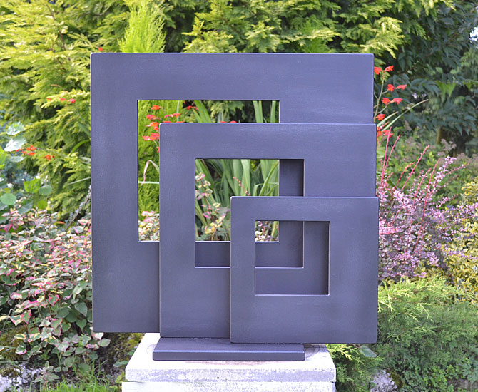 garden sculture, modern sculpture, metal art, garden art, art for gardens