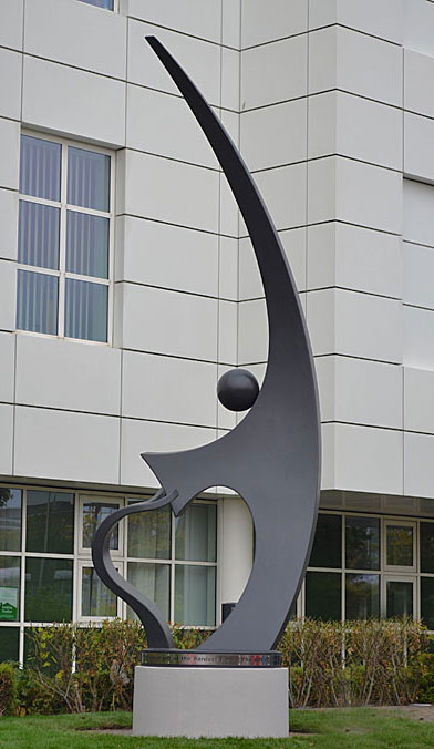 Sculpture for public spaces, sculpture for hospitals and schools, large sculpture